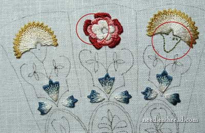 Floral Glove Needlecase Project from Thistle Threads