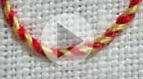 Whipped Backstitch Video