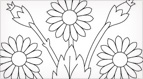 Art Needlework Daisies Embroidery Pattern