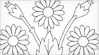 Art Needlework Daisies Embroidery Pattern