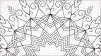 Coloris Kaleidoscope Hand Embroidery Pattern