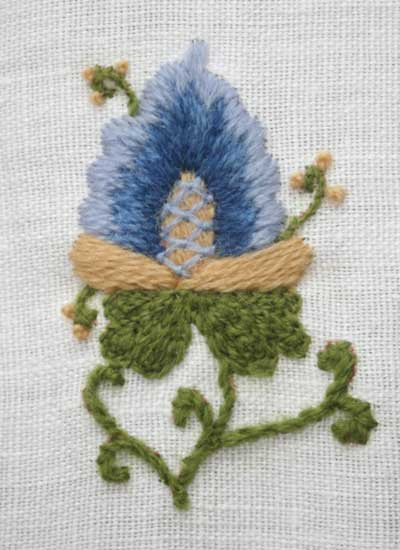 Spring in Italy Sampler with Wool Threads