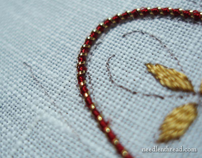 Lizardine Real Metal Thread for Hand Embroidery
