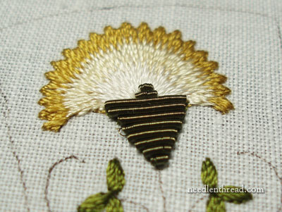 Goldwork Thread: Wire Purl