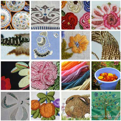 Upcoming Needlework Articles on Needle 'n Thread