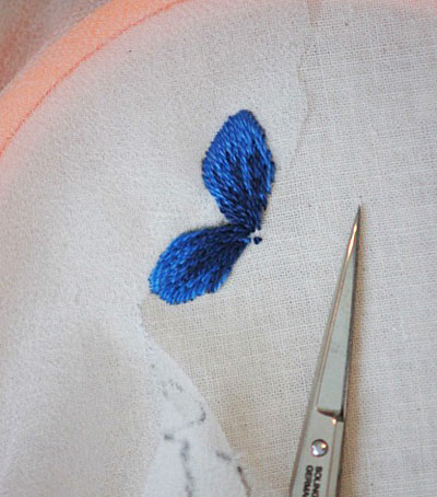 Transfer Embroidery Designs Using Silk Gauze and a Printer