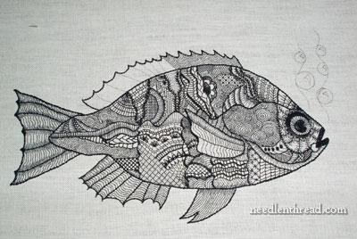Blackwork Fish