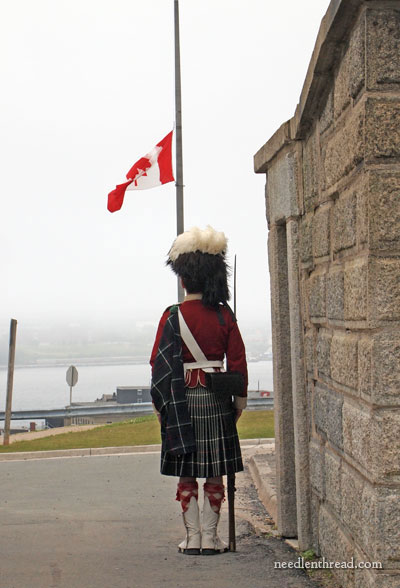 The Citadel in Halifax, Nova Scotia
