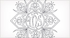 Cross and Lily Pattern