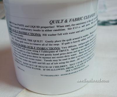 Orvus Cleaner