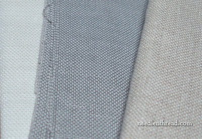 Ground Fabric for Embroidery - Linen