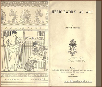 Needlework as Art by Marianne Alford 1886