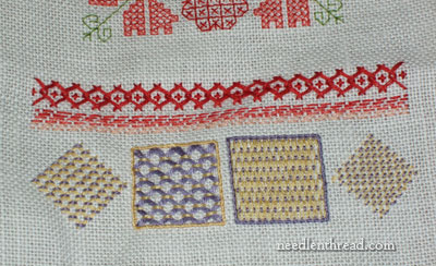 Embroidered Spot Sampler