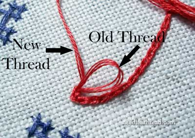Chain Stitch: Changing Threads