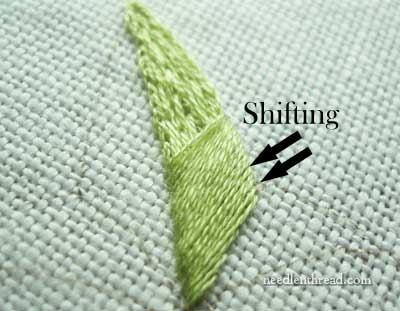 Satin Stitch Length