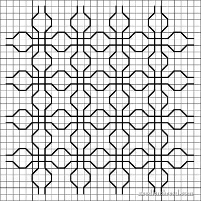 Developing Blackwork Embroidery Designs