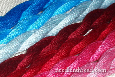 New Colors of Floche Embroidery Thread