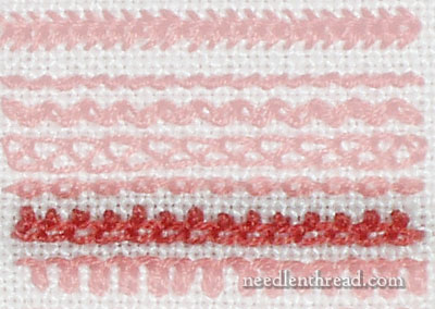 Crested Chain Stitch Video Tutorial