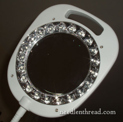 magnification lights on magnifier light for needlework. Black Bedroom Furniture Sets. Home Design Ideas