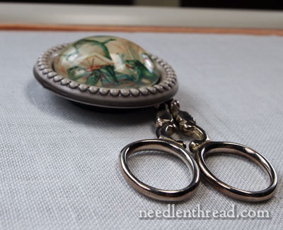 Making a Needle Minder out of a Button