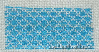 Running Stitch: Darning Pattern