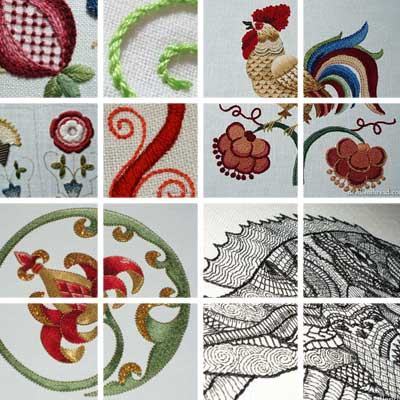 Hand Embroidery Projects in 2010