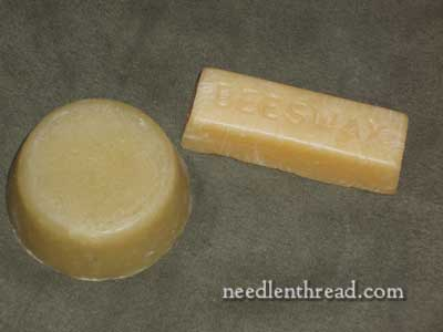 Beeswax for Hand Embroidery