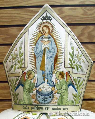 Assumption Embroidered Miter