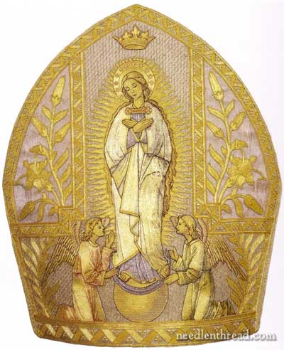 Embroidered Mitre Assumption