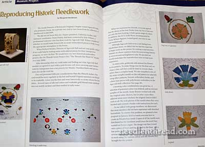 Embroiderers' Guild of American - NeedleArts Magazine
