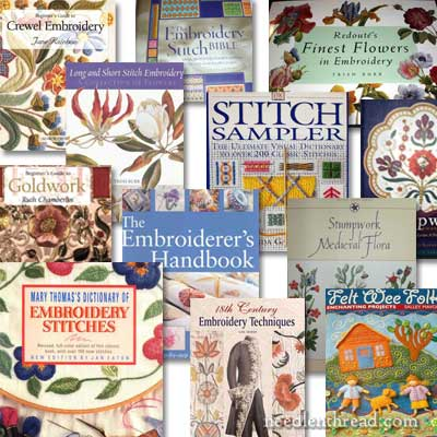 Needlework Book Give-away