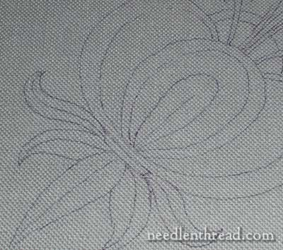 Puritan Gray Linen for hand embroidery by Legacy Linen