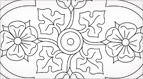Hand Embroidery Pattern: Quatrefoiled Rose