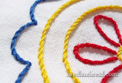 Stem Stitch Video Tutorial