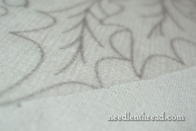 Transfer-eze for transferring hand embroidery patterns to fabric