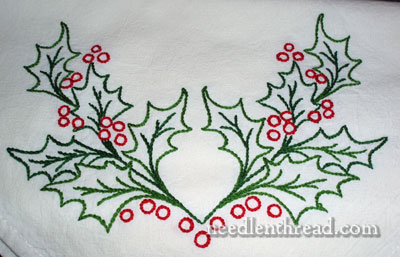 Transferring Embroidery Design using Transfer-Eze