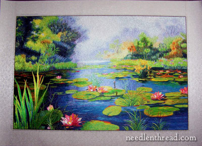 Silk Needlepainting - Hand Embroidery in Silk