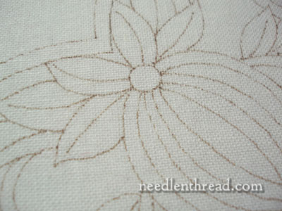 Wool Embroidery: Pomegranate Corner