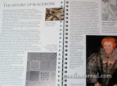 Book Review: RSN Essential Stitch Guide for Blackwork