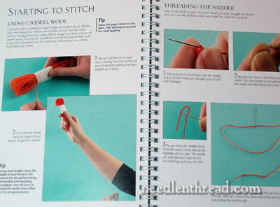 Royal School of Needlework Essential Stitch Guide for Crewelwork