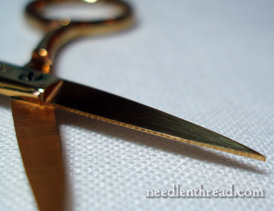 Goldwork Embroidery Scissors