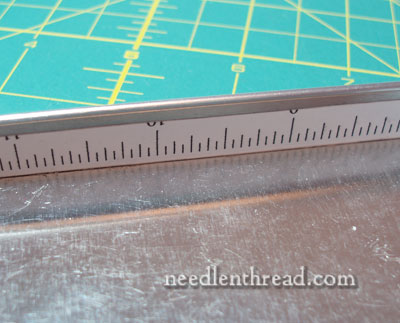 Goldwork Metal Thread Cutting and Storage Tray Tutorial