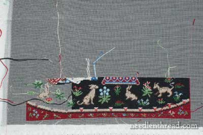 Miniature Embroidery Cluny Tapestry