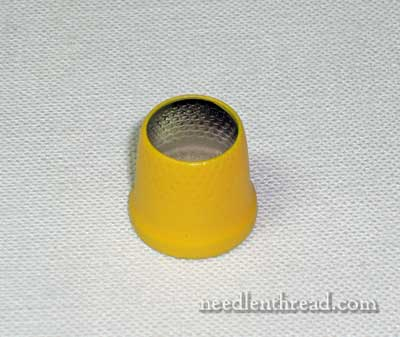 Open Thimble for Embroidering