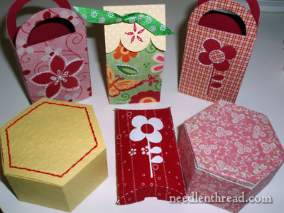 Fabric and Paper Boxes