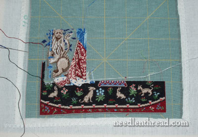 Stitching on Silk Gauze: Sense of Hearing Cluny Tapestry