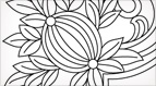 Hand Embroidery Pattern: Pomegranate Corners