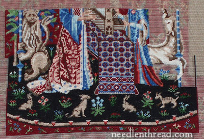 Miniature Embroidery Project: Cluny Tapestry