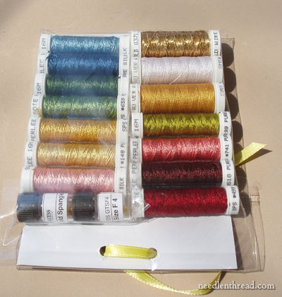 Silk & Gold Embroidery Threads