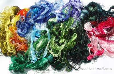 Chinese Silk Embroidery Thread